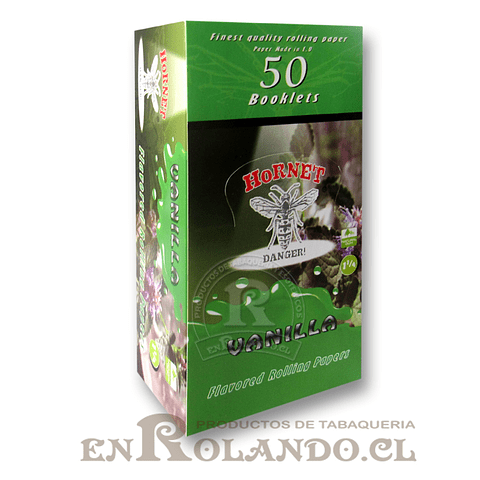 Papelillo Hornet sabor Vainilla 1 1/4 - Display