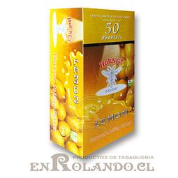 Papelillo Hornet sabor Limón 1 1/4 - Display