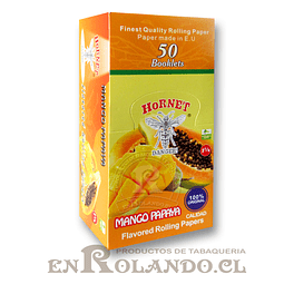 Papelillo Hornet sabor Mango - Papaya 1 1/4 - Display
