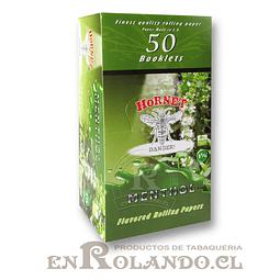 Papelillo Hornet sabor Menthol 1 1/4 - Display