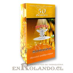 Papelillo Hornet sabor Banana 1 1/4 - Display