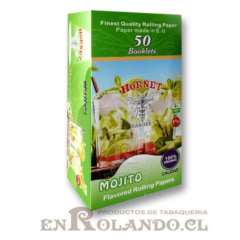Papelillo Hornet sabor Mojito 1 1/4 - Display