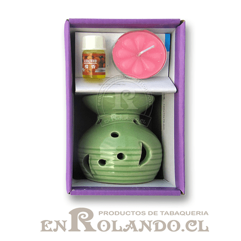 Set Difusor Cerámica + Vela + Esencia ($990 x Mayor)