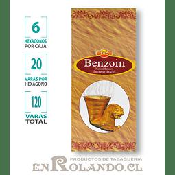"Incienso SAC ""Benzoin"" ($1.600 x MAYOR)- 120 varas"