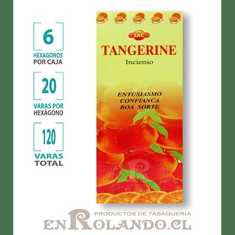 "Incienso SAC  ""Tangerina"" ($1.600 x MAYOR)- 120 varas"