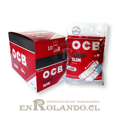 Filtro OCB Slim Long - Bolsa ($790 x Mayor)