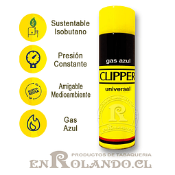 Gas Clipper Azul Universal - 300 ml. ($2.500 x Mayor)