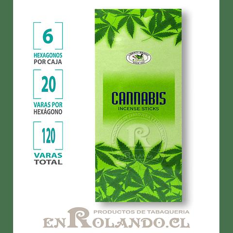 "Incienso Liberty ""Cannabis"" - 120 varas"