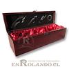 Caja Porta-Vinos con Accesorios ($7.990 x Mayor)