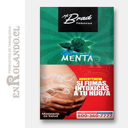 Tabaco Mr Brad Menta 20gr ($1.890 x Mayor)