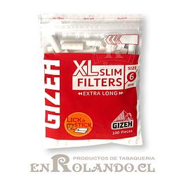 Filtros Gizeh Slim Largos (XL) - Bolsa ($690 x Mayor)