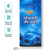 """Incienso SAC """"Shanti Om"""" ($1.600 x MAYOR) 120 varas"""