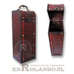 Caja Porta-Vinos con Herrajes ($4.990 x Mayor)