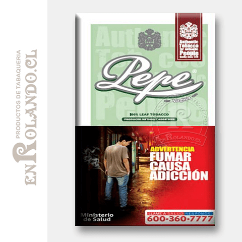 Tabaco Pepe Easy Green ($6.300 x Mayor)