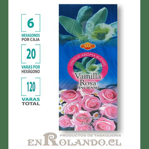 "Incienso SAC  ""Vainilla - Rosa"" - 120 varas"
