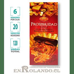"Incienso SAC  ""Prosperidad"" ($1.600 x MAYOR)- 120 varas"