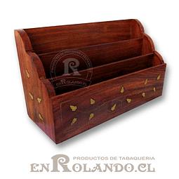 Organizador Escritorio de Madera ($4.990 x Mayor)