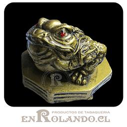 Figura Rana de la Suerte de Poliresina ($1.990 x Mayor)