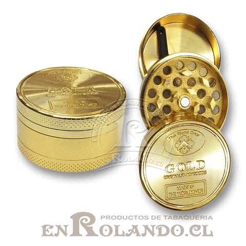Moledor Metálico Gold #876 - 2 Pisos ($2.490 x Mayor)