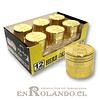 Moledor Metálico Gold #876 - 3 Pisos ($2.990 x Mayor)