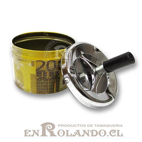Cenicero Metálico con Depósito ($1.990 x Mayor)