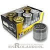 Moledor Metálico Diseño #2001 - 3 Pisos ($2.990 x Mayor)