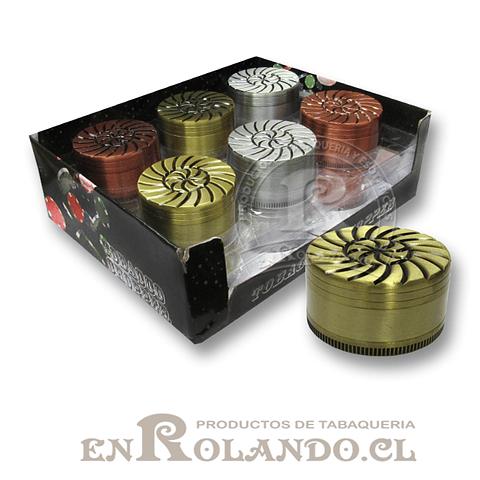 Moledor Metálico Diseño #578 - 2 Pisos ($2.990 x Mayor)