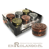 Moledor Metálico Diseño All Star #583 - 2 Pisos ($2.990 x Mayor)