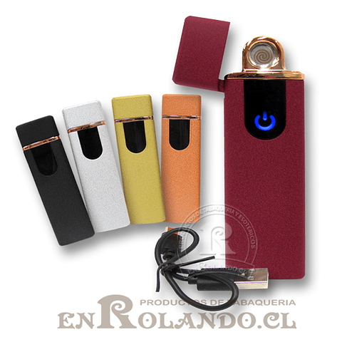 Encendedor Eléctrico USB Recargable #752  ($3.990 x Mayor)