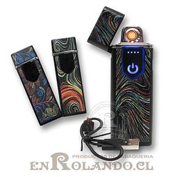 Encendedor Eléctrico USB Recargable #329  ($2.990 x Mayor)