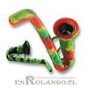 Pipa Silicona Saxofone ($2.990 x Mayor)