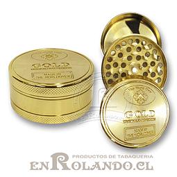 Moledor Metálico Gold #806 - 2 Pisos ($2.990 x Mayor)
