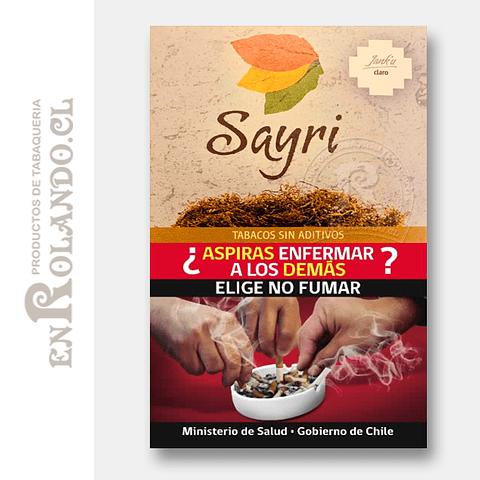 Tabaco Sayri Claro ($8.990 x Mayor)