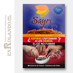 Tabaco Sayri Oscuro ($8.990 x Mayor)
