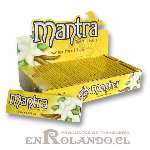 Papelillo Mantra sabor Vainilla 1 1/4 - Display