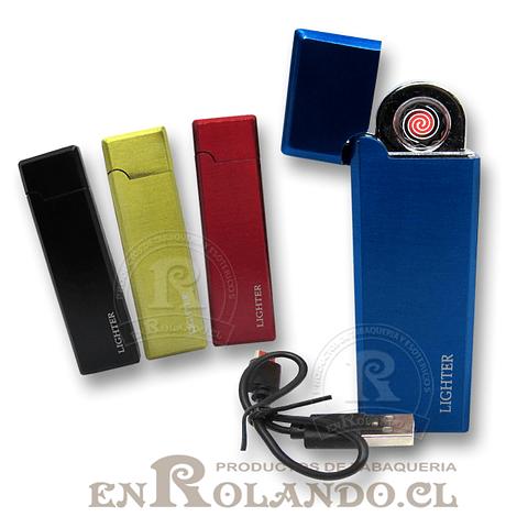 Encendedor Eléctrico USB Recargable #701 ($2.990 x Mayor)