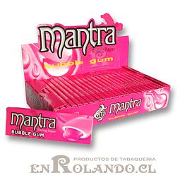 Papelillo Mantra sabor Bubble Gum 1 1/4 - Display