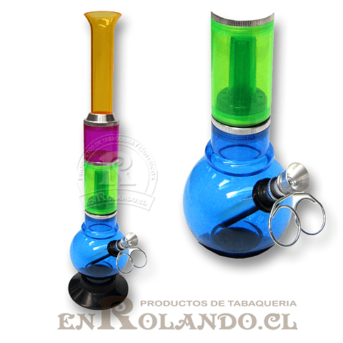Bong Acrílico 33 cm ($7.990 x Mayor)