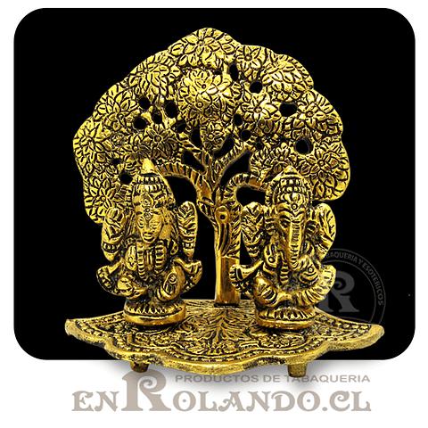 Figura Ganesha bajo un Arbol #258 ($9.990 x Mayor)