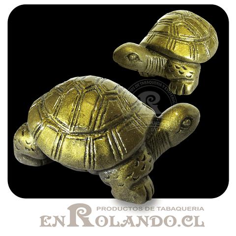 Figura Tortuga Pequeña de Poliresina ($990 x Mayor)