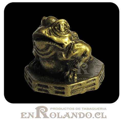 Figura Rana Pequeña para Buena Fortuna ($790 x Mayor)