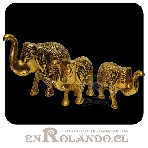 Set 3 Elefantes Metal #254 ($29.990 x Mayor)