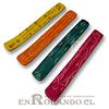 Tablilla de Madera Colores  x 10 ($350 c/u)