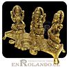 Mini Altar y Lampara (diya) 3 Dioses Hindúes ($14.990 x Mayor)