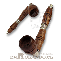 Pipa Madera y Metal #08 ($1.990 x Mayor)