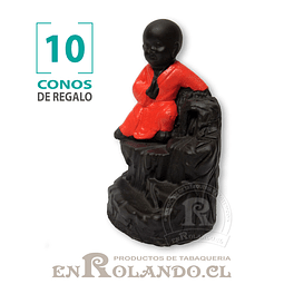 Cascada de Humo Niño Buda #08 ($5.990 x Mayor)