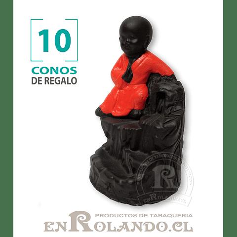 Cascada de Humo Niño Buda #08 ($4.990 x Mayor)