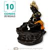 Porta Cono Cascada de Humo Niño Krishna ($5.990 x Mayor)