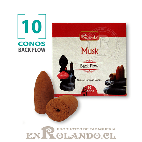 "Caja 10 Conos Cascada ""Musk"" ($750 x Mayor)"