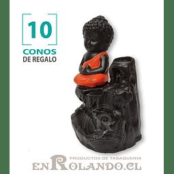 Porta Cono Cascada de Humo Niño Buda #10 ($5.990 x Mayor)